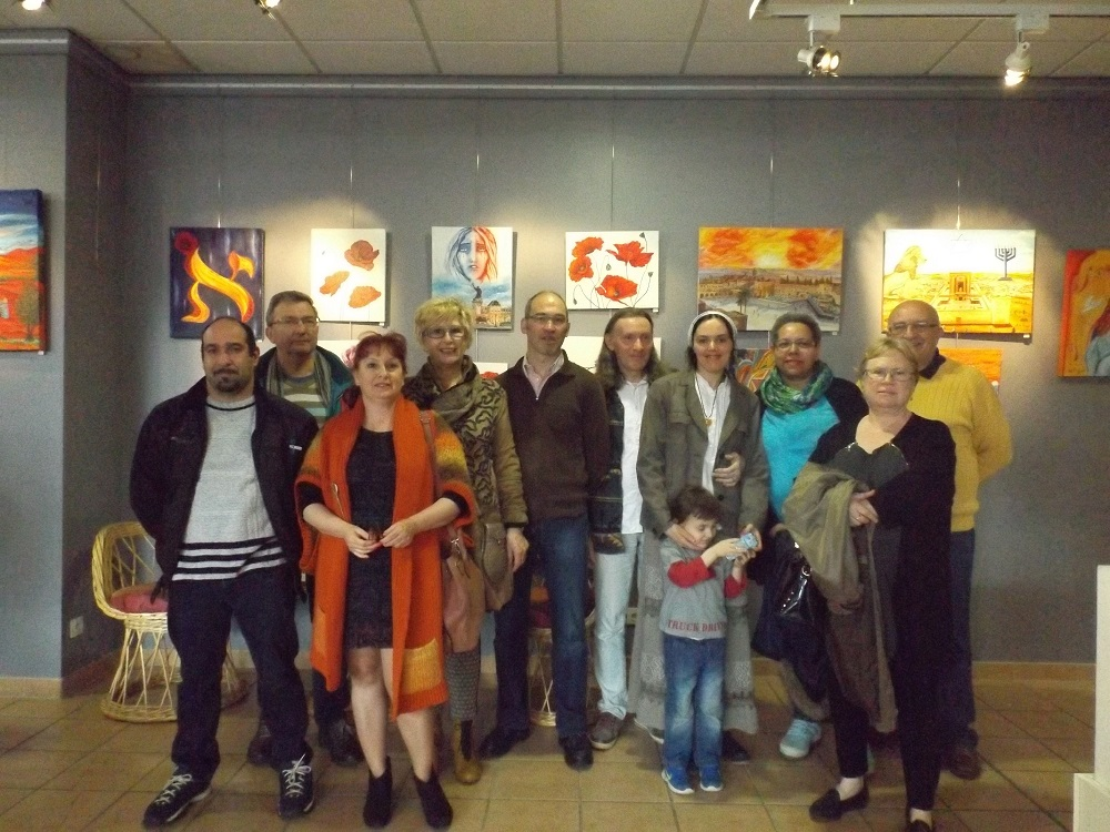 23 avril 2016 vernissage Willy et Emily Marceau, A-M. Gagnière