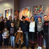 vernissage 18 février 2017 W. E Marceau Lilia Simon
