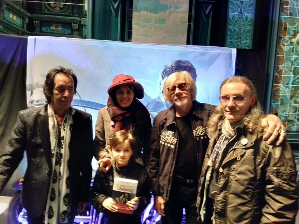 Willy et Emily Marceau avec Robin le Mesurier et Pierre Billon