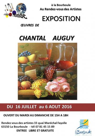 Affiche chantal auguy