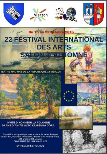 Affiche festival de vierzon 2016