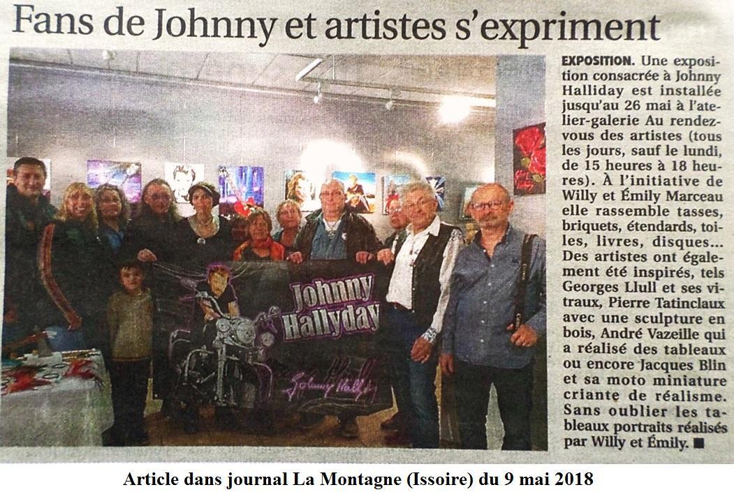 Article du 9 mai 2018 dans la montagne issoire